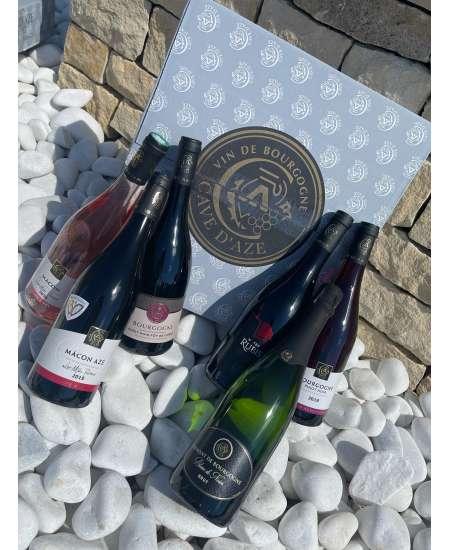 Coffret découverte de nos Vins rouge, rosé et Crémant Blanc de Noirs